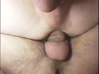 Delicious sex with internal anal creampie